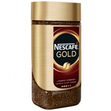 КОФЕ NESCAFE GOLD РАСТВОРИМЫЙ СУБЛИМИРОВАННЫЙ 190Г 000640
