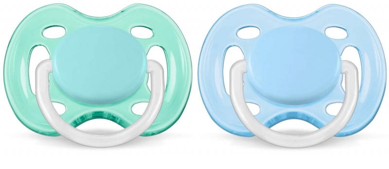 Пустышка Philips AVENT Ultra soft 2 шт 0-6 мес. 803584