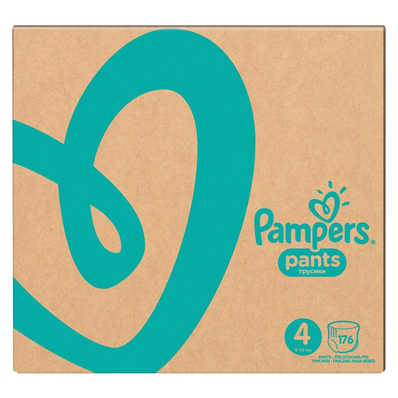 Подгузники Pampers Active Baby-Dry 4 ( 9 - 14 кг ) 174 шт