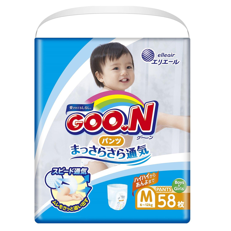 Японские подгузники goon m